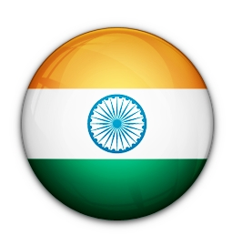 Indian flag sphere