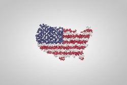USA flag in plls