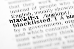 blacklist definition