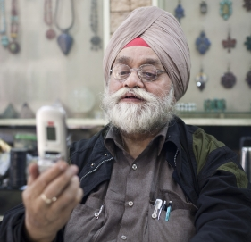 Indian man with cellphone