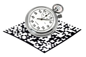 2D datamatrix plus stopwatch