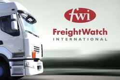 Freightwatch logo and truck
