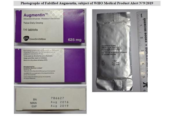 SecuringIndustry com - Falsified Augmentin found in Uganda