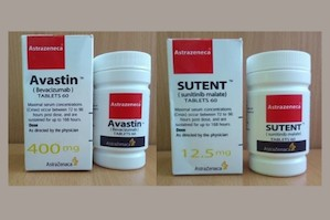 Avastin and Sutent falsified packs