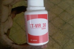 TPI antiretroviral bottle