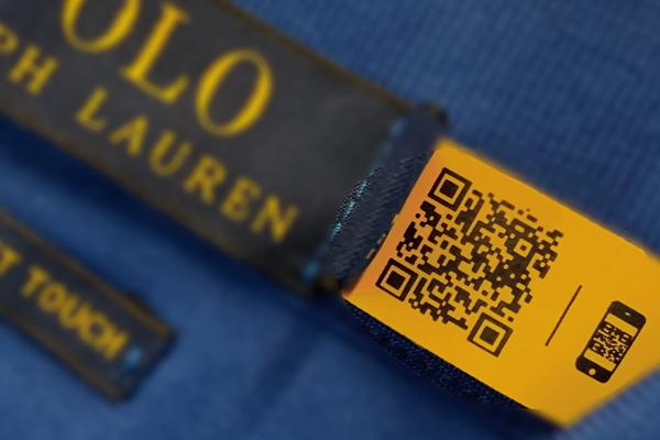 qr codes in retail ralph lauren